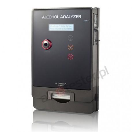 Alkomat AL 4000 Plastikowa obudowa + Świadectwo Kalibracji + Kalibracje Gratis