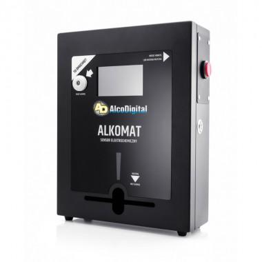Alkomat stacjonarny na przycisk AlcoDigital 303-MG z Certyfikatem kalibracji